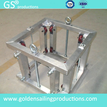 aluminum spigot truss sleeve block 290mm aluminum stage truss for sale