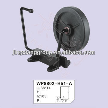 Trolley bottom wheel luggage handle parts and wheel