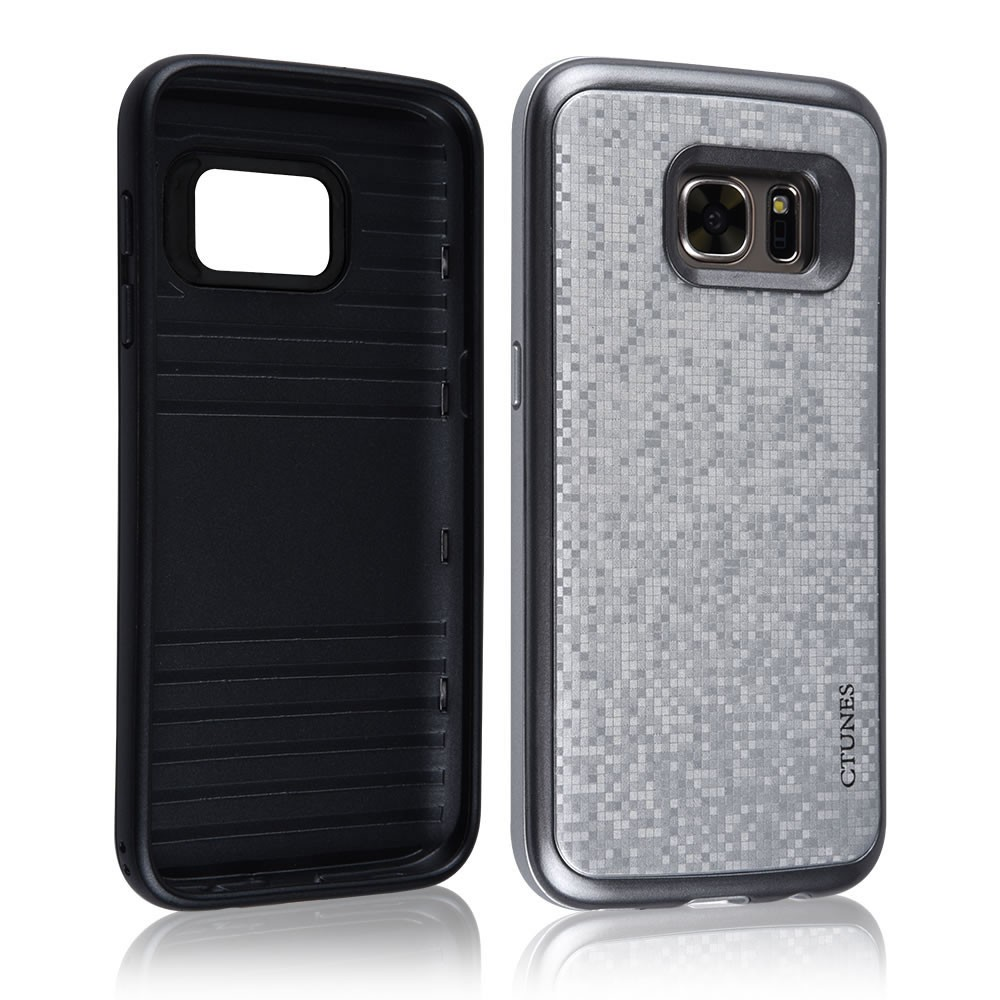 C&T Dual Layer hard cover phone case for samsung galaxy s6 edge plus