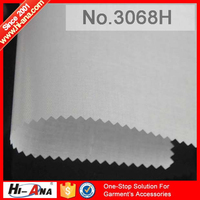 hi-ana fabric3 Rapid and efficient cooperation Hot sale interlining fusing