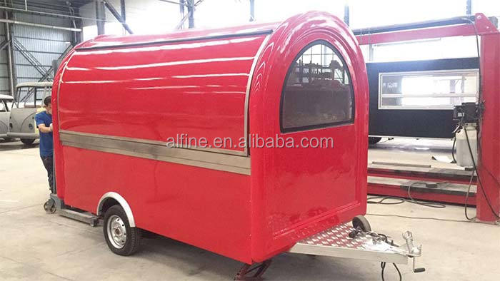 high quality hot selling fast food trucks for sale in qatar
