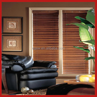 50mm high quality waterproof PVC window blinds, brackets for venetian blinds