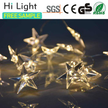 High quality low voltage bulb christmas light color changing snowflake suction led light