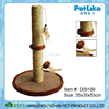 Cat furniture wholesaler sisal cat tree with groomer