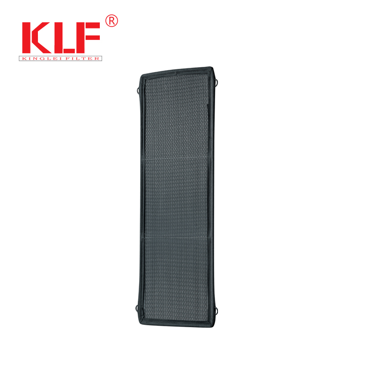 central air conditioning pleated synthetic fiber furnace panel filter