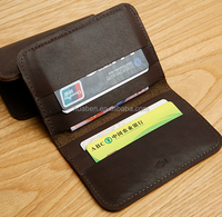 genuine leather bank card holder credit card case slim card case leather