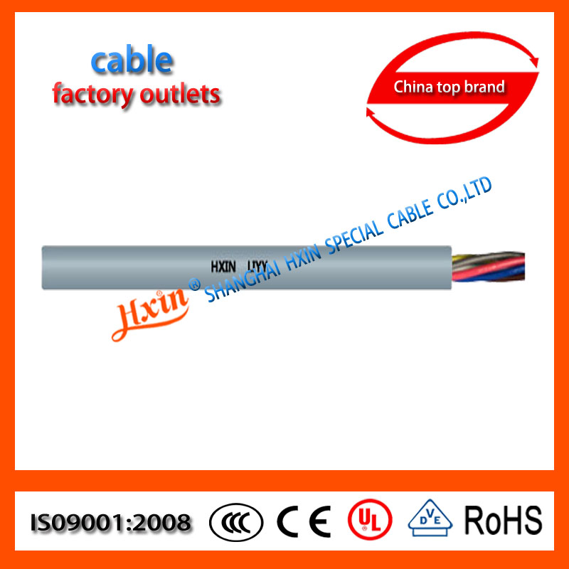 PVC Double Shielded copper sheathed mineral insulated cable