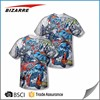 Wholesale Customized Sublimation Plus Size T Shirts For Summer