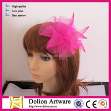 2014 Wholesale Feather Hair Fascinators And Hair Bands