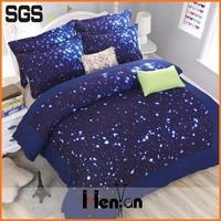 custom printed 3d softtextile bed sheet set blanket