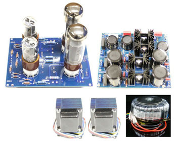 EL34 SE V S1 Single-end Tube Amplifier 10W+10W Complete Kit (Stereo)