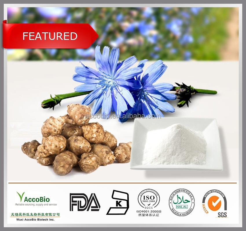 Natural Inulin Wholesale, Pure Chicory extract Inulin in bulk, Chicory extract 90% Inulin powder