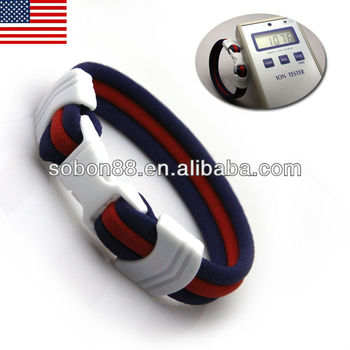 GT-051 USA baseball team designed supplier baseball bracelet