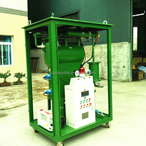 Enclosed Type Waste Insulation Oil Degassing Dehydration Purifier