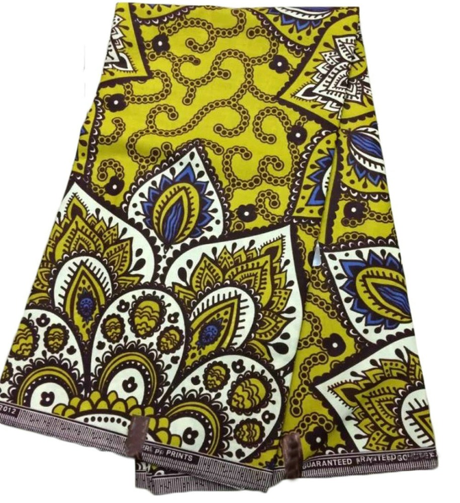 2015 high quality african wax prints super wax fabric veritable real wax fabric