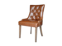 Morden Dining Chair with button & Piping