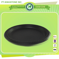 volume-produce customized disposable paper plate for party
