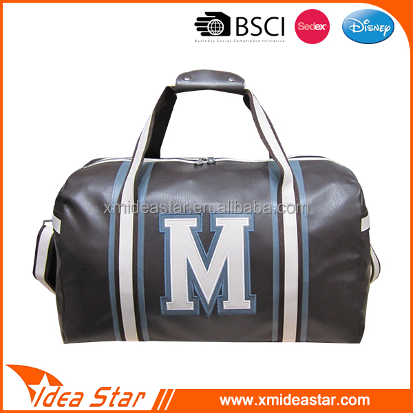 New design soft PU sport travel bag duffel bag
