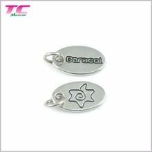 Alibaba Top Activity Supplier Custom Jewelry Tags Mini Engraved Logo Jewelry Tags With Durable Quality