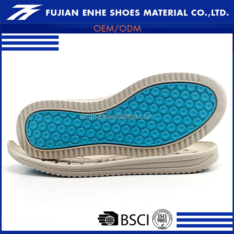 OEM brand comfortable non slip shoe outsole material for sports shoes