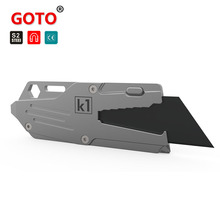 GOTO multi-function EDC knife bottle opener Outdoor 16 in 1 Camping Tool for Screwdriver Repair Bottle Opener