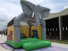 Factory Price Elephant Inflatable Moonwalks,Cheap Inflatable Bouncers For Sale