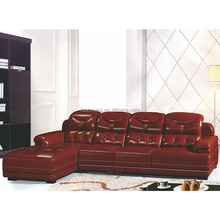latest d'importation de meubles chinois / half round leather sofa / luxury sofa beds