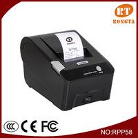 58mm pos printer, fast food restaurant kitchen equipment,RS-232, Parallel, USB, Ethernet interface RP58