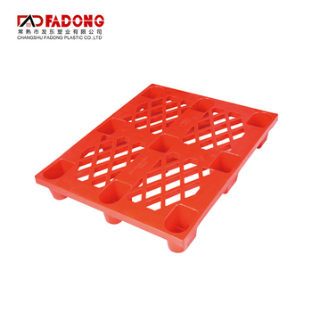 Face shape steel euro reinforced hope plastic pallet made in china hdpe pallet