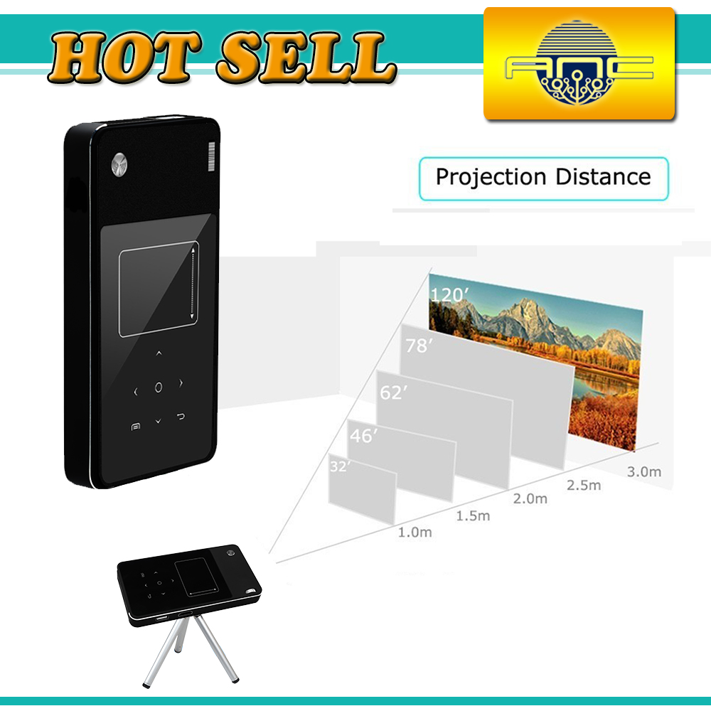 2016 Hot Sale Android Mini pocket <strong>projector</strong> for home 4000 lumens