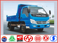 China brand new Foton 6wheel 4*4 mini dump truck for sale in dubai