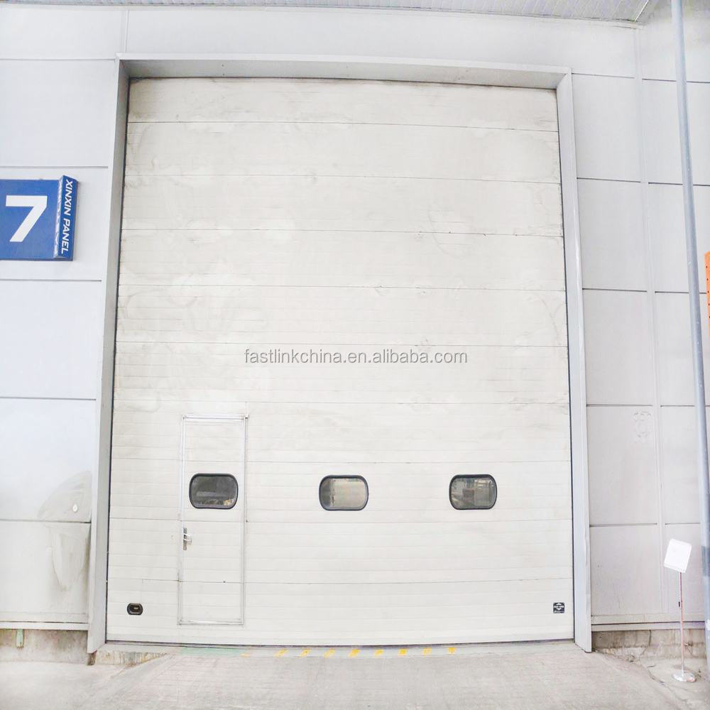 Sectional Doors Product : Used overhead sectional door with ce certification for