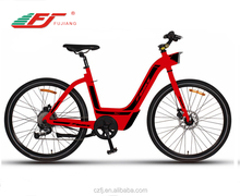 With 6061 aluminum alloy woman electric bicycle e bicycle electric bike