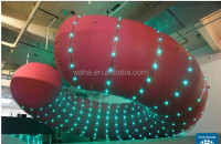 2015 Hot-selling cheap custom inflatable wrestling ring for kids with led