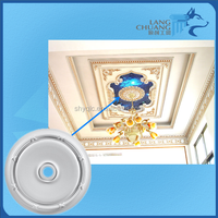 Ornamental Building Material Plaster of Paris Medallion Moulding