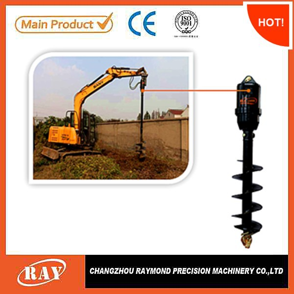 paint coated Finishing and Metal Material ground hole drill earth drill for loader