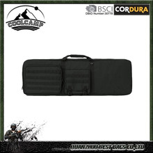 Outdoors Tactical Gun Bag With Built In Shooting Mat and Hunting Backpack Straps- Soft Rifle Case