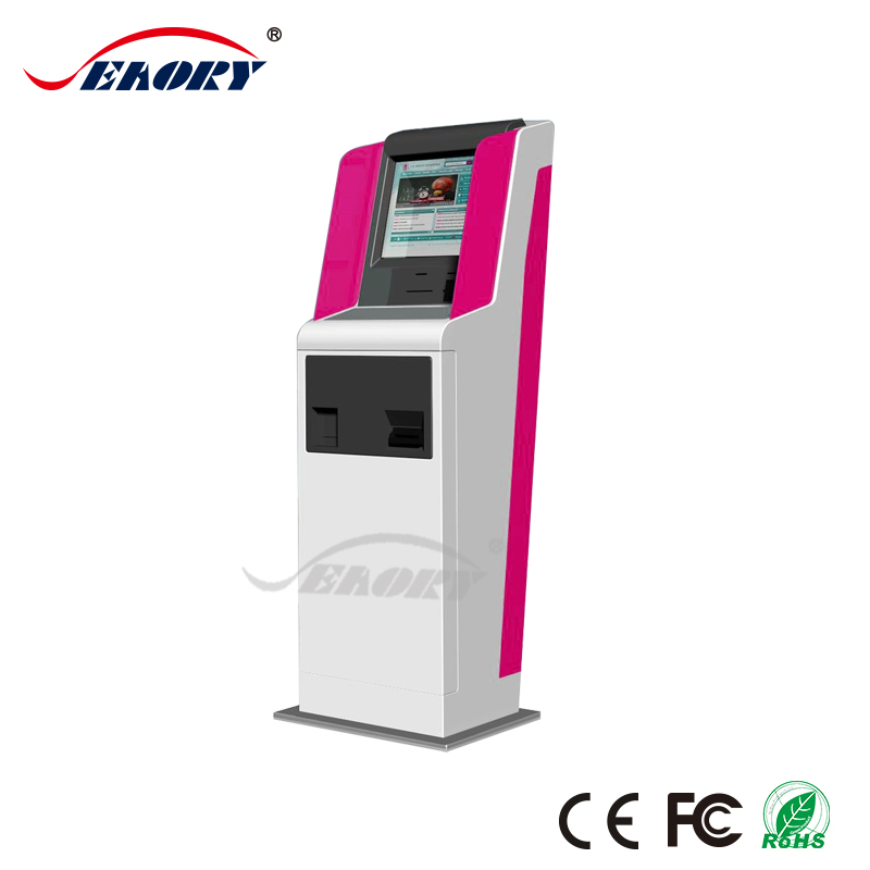 bank atm machine with cash exchange