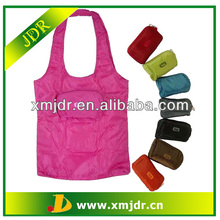 High Quality Polyester Pocket Foldable Tote Bag