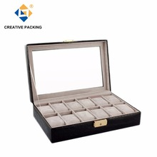 12 Slots Acrylic Window Watch Box