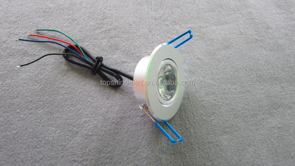 Shenzhen Wholesale small led spot light MR11 AC/DC 12V 1PCS 30 degree 1w led spotlight