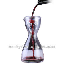 2 in1 art glass wine decanter (NT-SV04 )