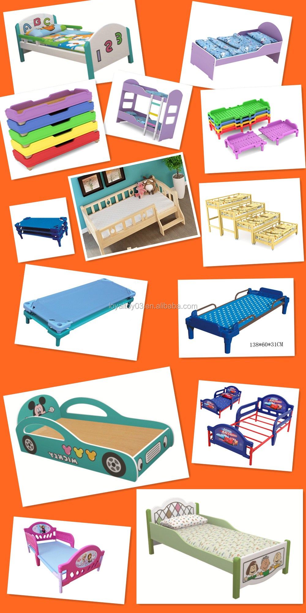 2016 NEW STYLE NURSERY BED,DAYCARE FURNITURE,CHILDREN COT,stackable in affordable cost