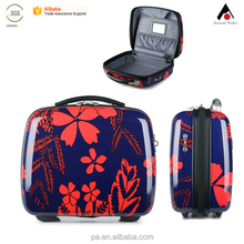 PC beauty Case Hard High Impact Small Cheap Plastic Carrying Tool Case with printing