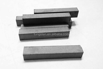 tungsten carbide rectangular bar