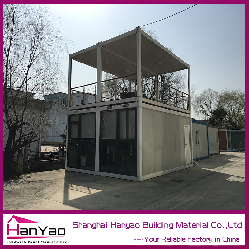 Glass Door 20Ft/40Ft Container House/ Apartment