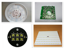 aluminum pcb board fabricate and assembly,PCBA service