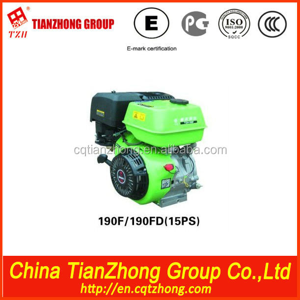 tianzhong cheap 200cc Gasoline Engine Air Cooled Ohv 4 Stroke Engine Zh200