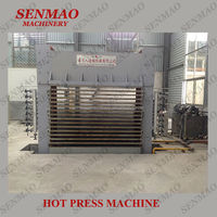 bending wood hot press machine/press machine/woodworking machine