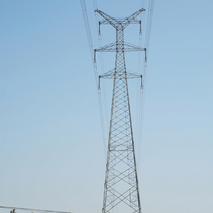 High Voltage Power Transmission Tower Steel Lattice Tower